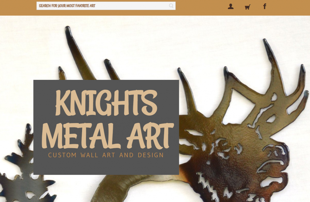 Knights Metal Art